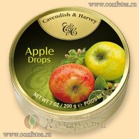 05149 Леденцы (Cavendish & Harvey) 200г «Яблоко» (Apple Drops)