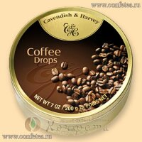 05148  Леденцы (Cavendish & Harvey) 200г «кофейные» (Coffee Drops)